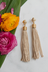 Fringe on me Earrings - Nude - Haute & Rebellious