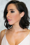 Triple Threat Crystal Choker - Haute & Rebellious