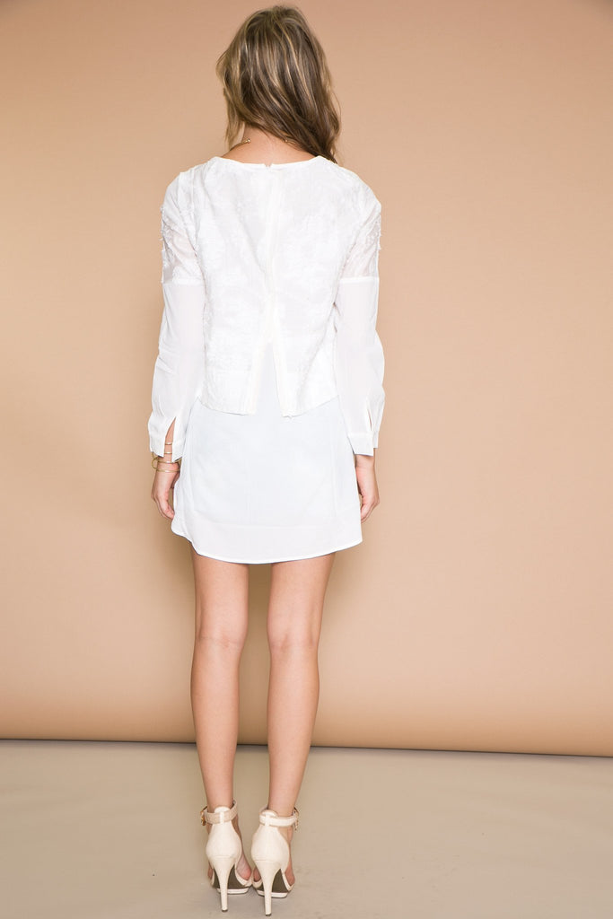 Baan Overlap Shirt Dress