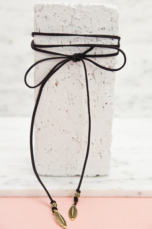 What Comes Around Goes Around Tie Choker - Haute & Rebellious