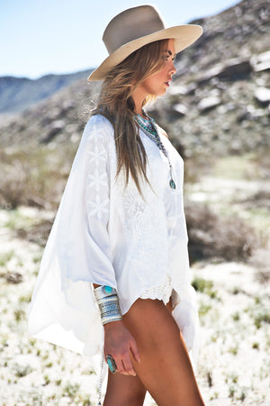 Jehcka Poncho Top - Haute & Rebellious