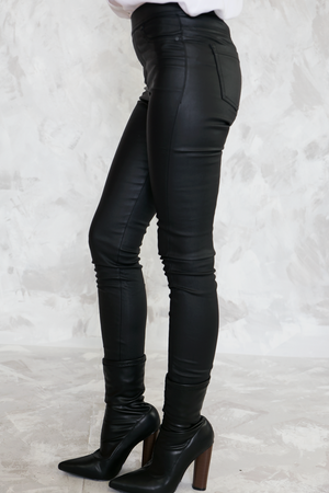 Second Skin Skinny Pant - Black /// Only 1-L Left /// - Haute & Rebellious