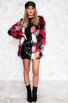 Faux Fur Textured Jacket