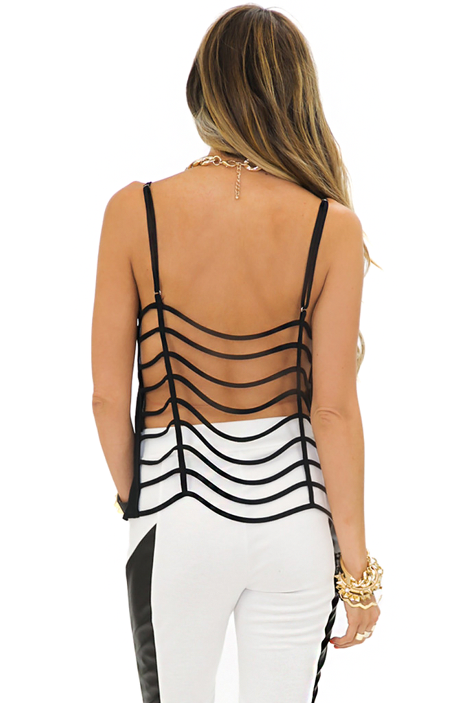 EMIT LADDER BACK TANK - Black