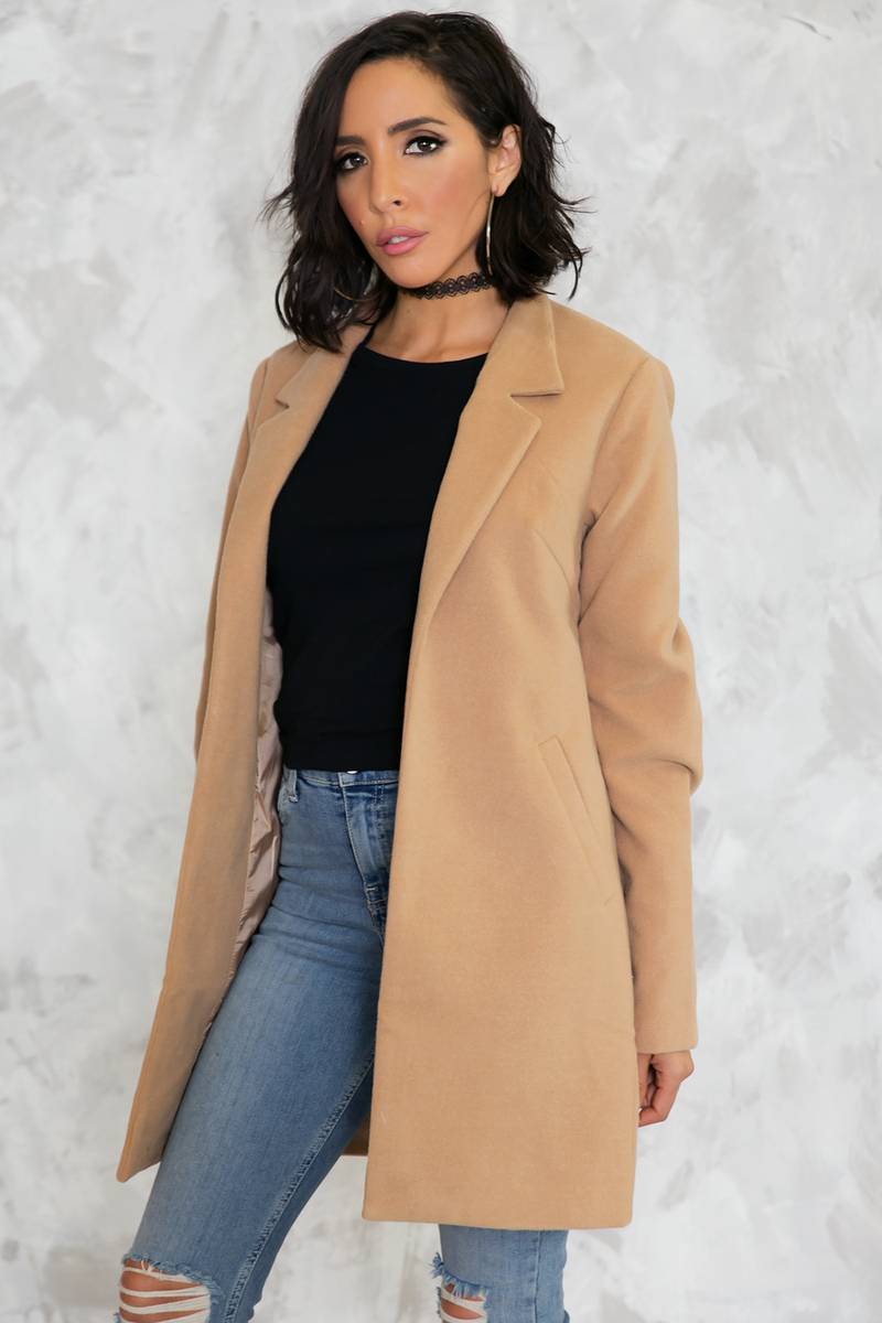 I Found You Short Camel Coat /// Only 1-L Left /// - Haute & Rebellious