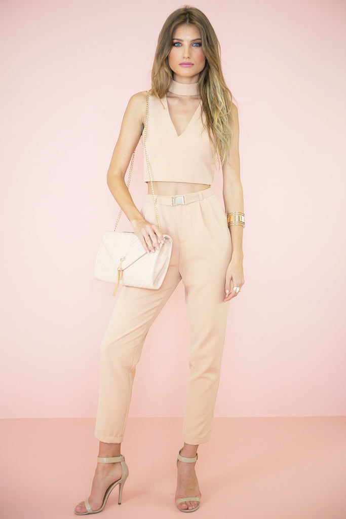 Sabine High Waisted Pants - Haute & Rebellious