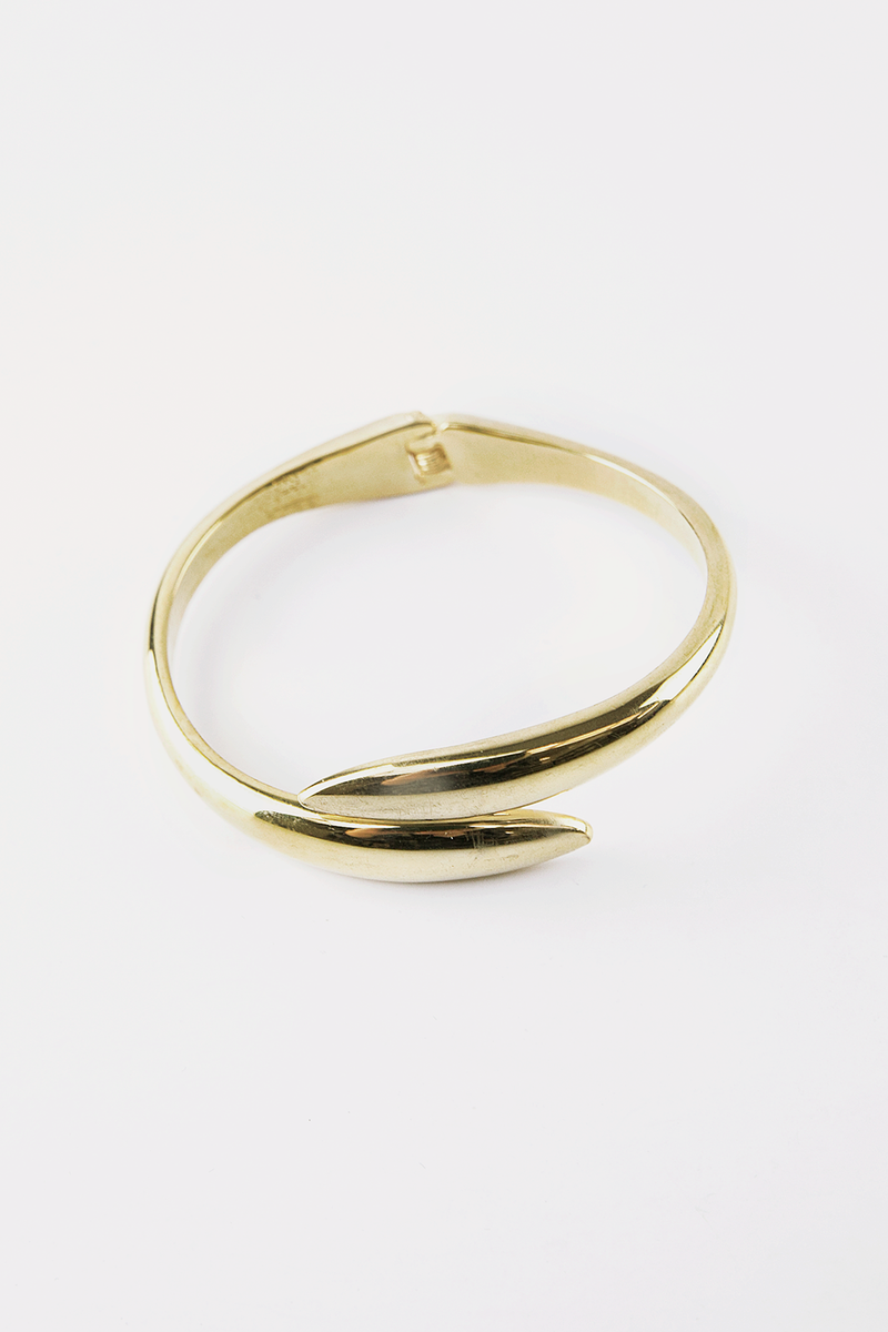 Rounded Plated Bracelet