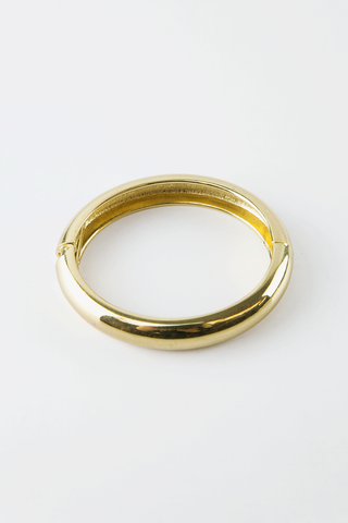 ABSTRACT STUD BANGLE - Gold