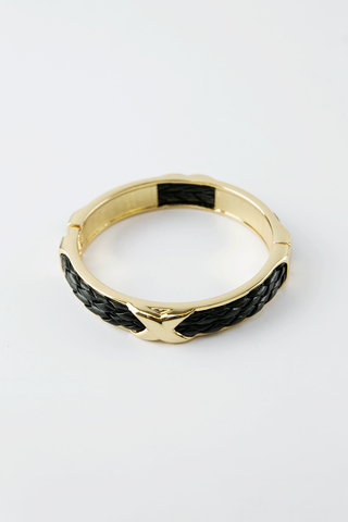 Bella Turq Stone Bangle Set - Gold