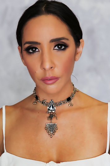 Together Again Metal Choker - Haute & Rebellious