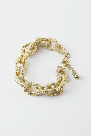 Chain Statement Necklace - Gold