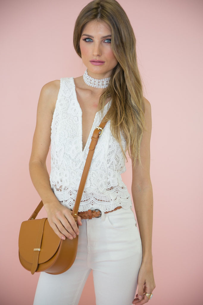 Lacey Lace Top