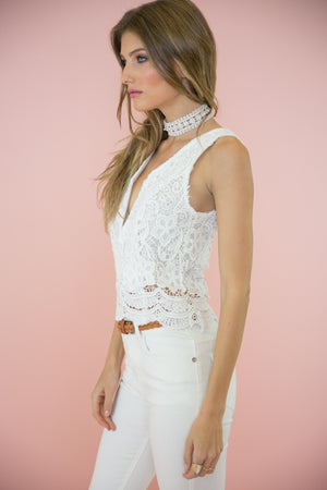 Lacey Lace Top - Haute & Rebellious