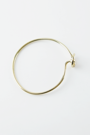 Tie It Up Solid Bangle