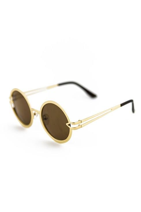 FREE LOVE GOLD SUNGLASSES - Haute & Rebellious