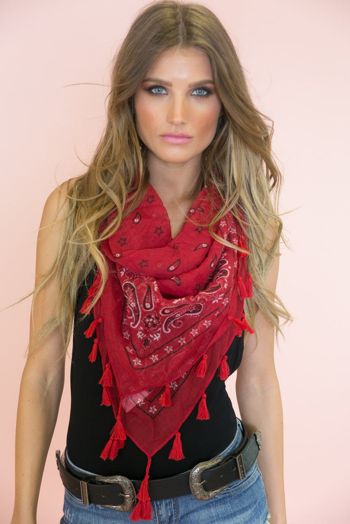 Cover The Sand Bandana Scarf