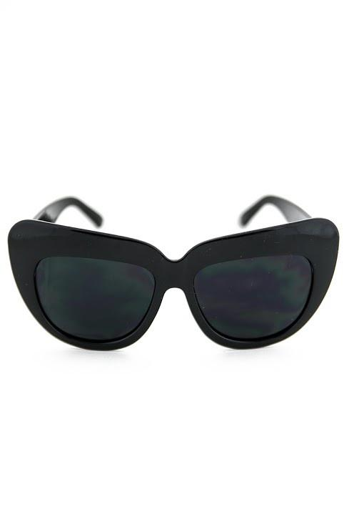 BETSON HEAVY SUNGLASSES - Black