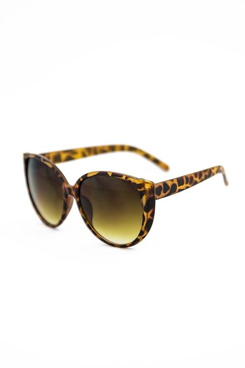 COME MY WAY SUNGLASSES - Brown Tort