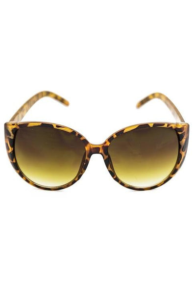 COME MY WAY SUNGLASSES - Tort Shell