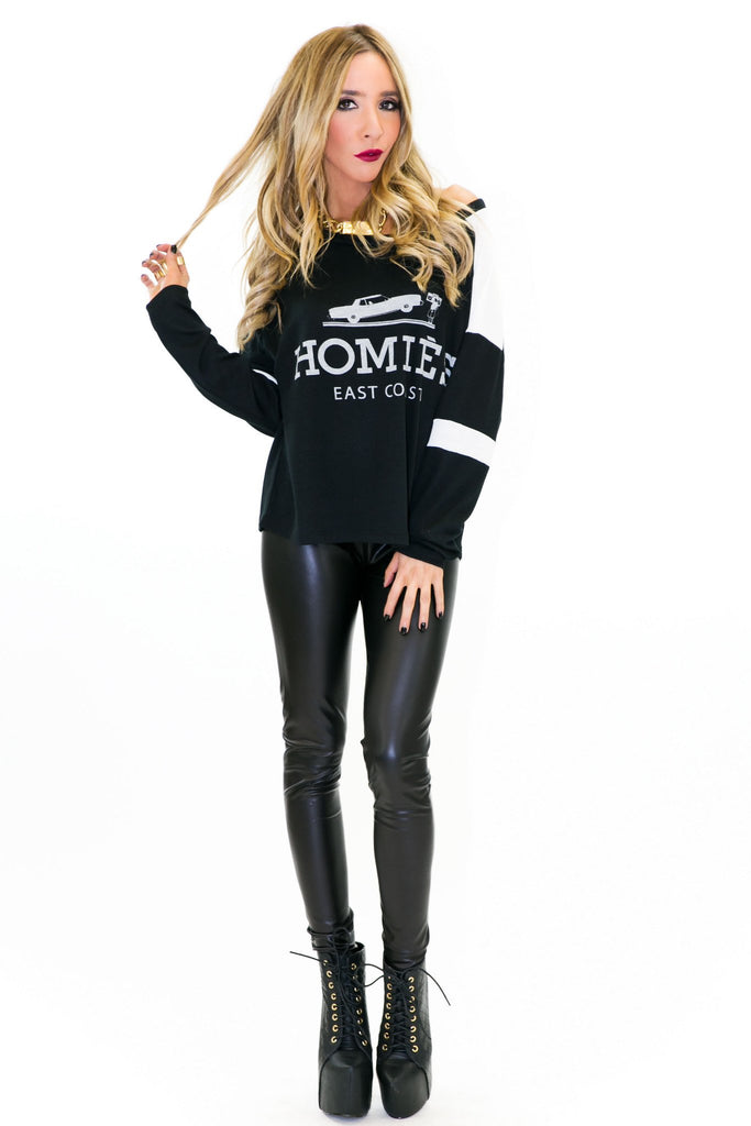 HOMIES LONG SLEEVE SWEATSHIRT TEE