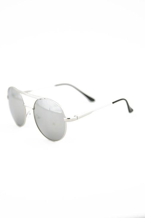 FLOWER POWER SUNGLASSES - Silver