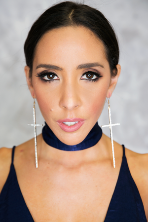 Cross Your Crystals Earrings - Haute & Rebellious