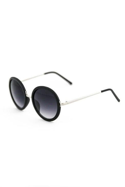 FIND MY WAY SUNGLASSES - Black/Silver