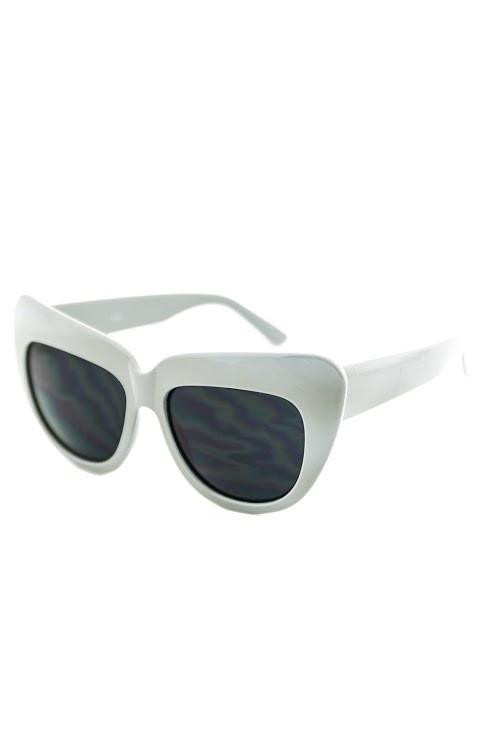 BETSON HEAVY SUNGLASSES - Grey