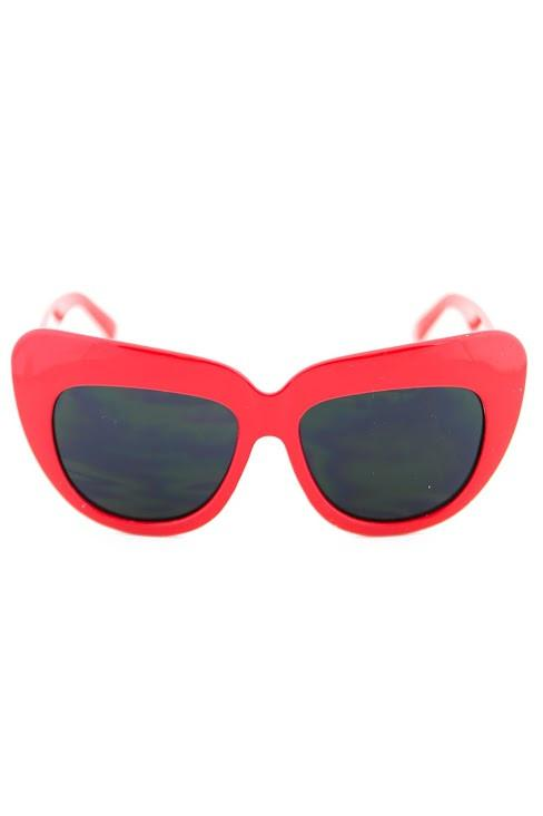 BETSON HEAVY SUNGLASSES - Red - Haute & Rebellious