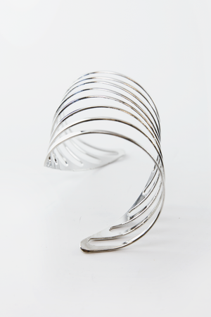 Spiral Swirl Cuff Bangle