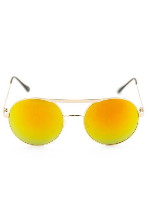 FLOWER POWER SUNGLASSES - Yellow - Haute & Rebellious