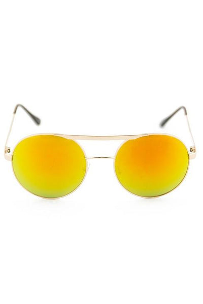 FLOWER POWER SUNGLASSES - Yellow
