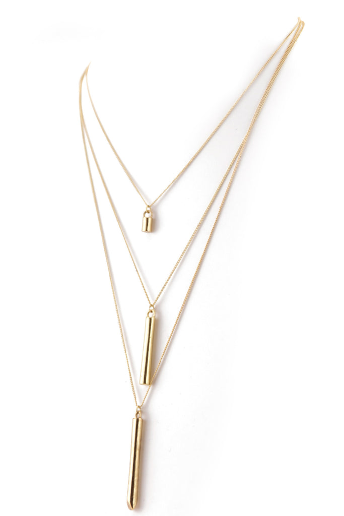 PETITE CHAINS CHIME PENDANT NECKLACE