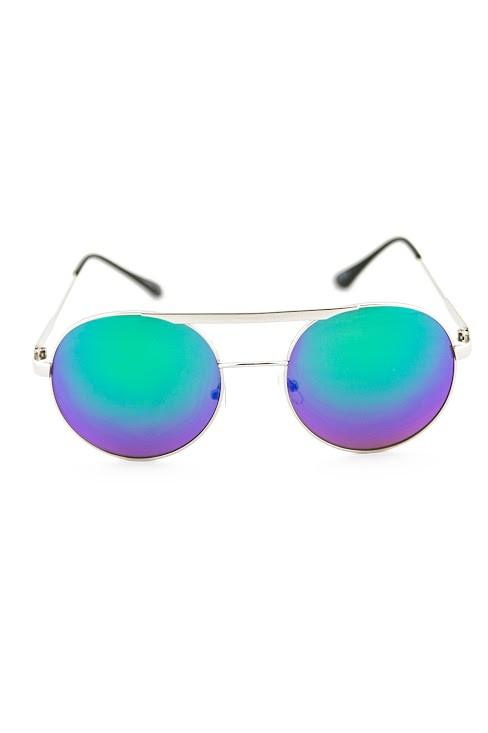 FLOWER POWER SUNGLASSES - Green