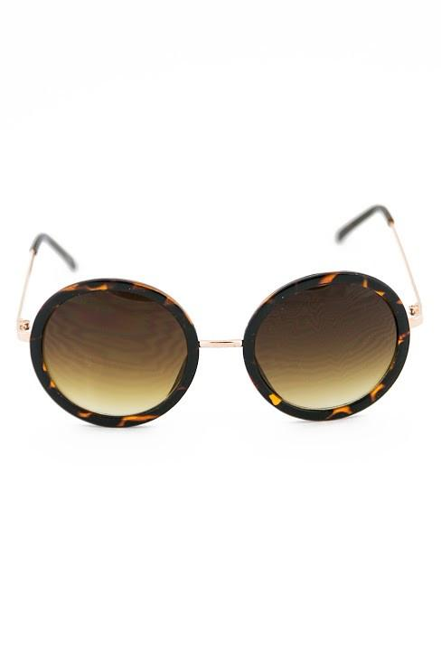 FIND MY WAY SUNGLASSES - Tort/Gold
