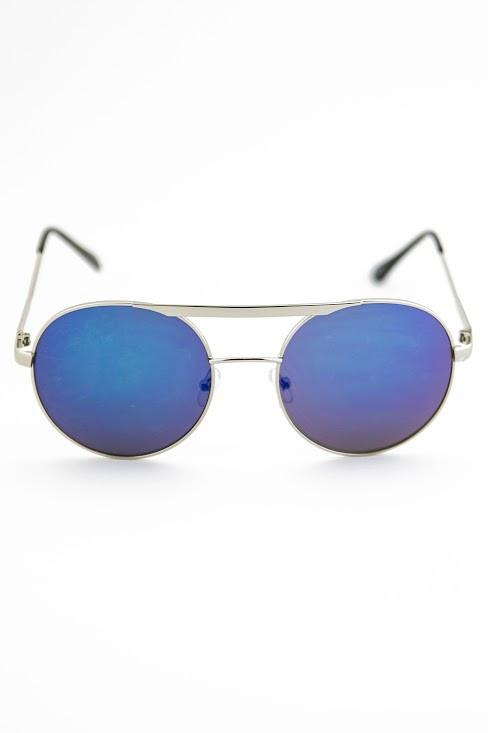 FLOWER POWER SUNGLASSES - Blue - Haute & Rebellious