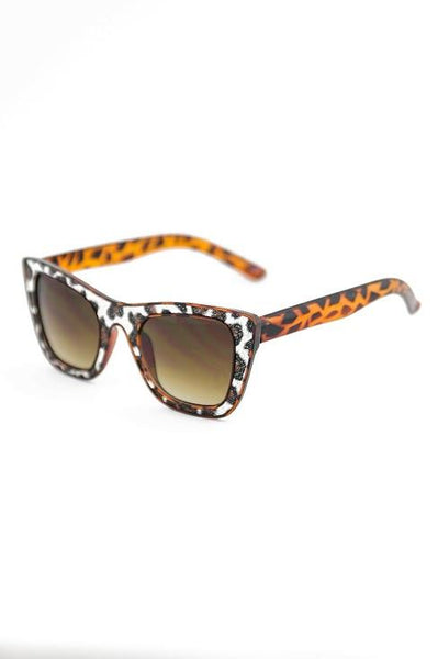 FIERCE & FRIENDLY SUNGLASSES - Leopard