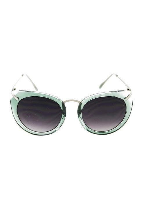 LOST MY WAY SUNGLASSES - Green