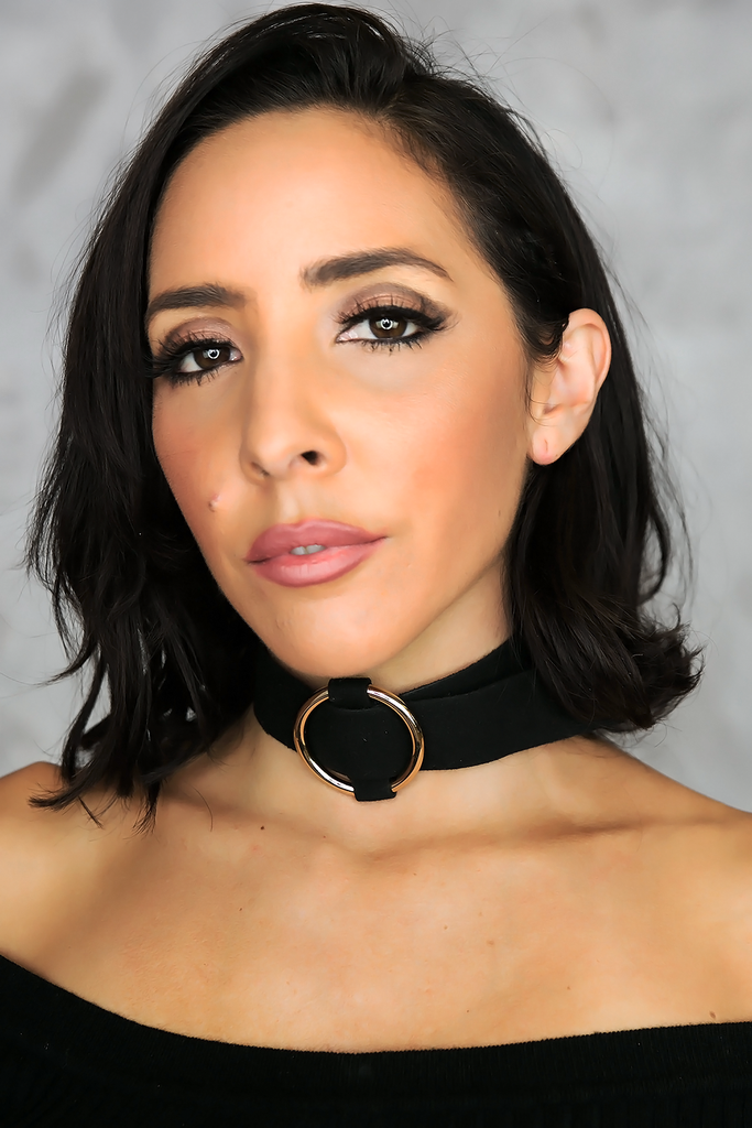 Thick Chloe Choker - Black
