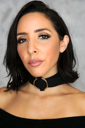 Chloe Circle Thick Choker - Black - Haute & Rebellious