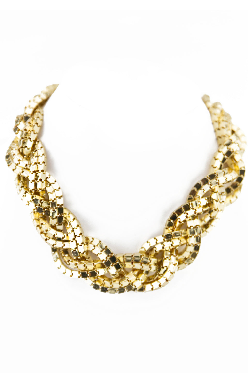Rope Chain Necklace - Gold - Haute & Rebellious