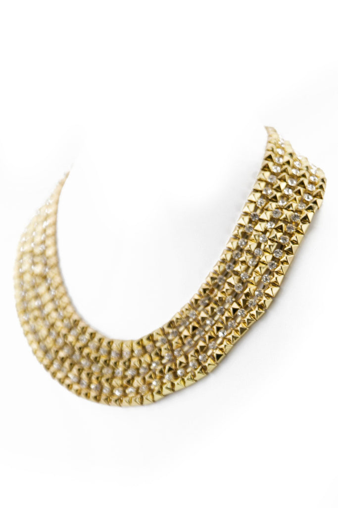 CLEA STUD CHAIN NECKLACE