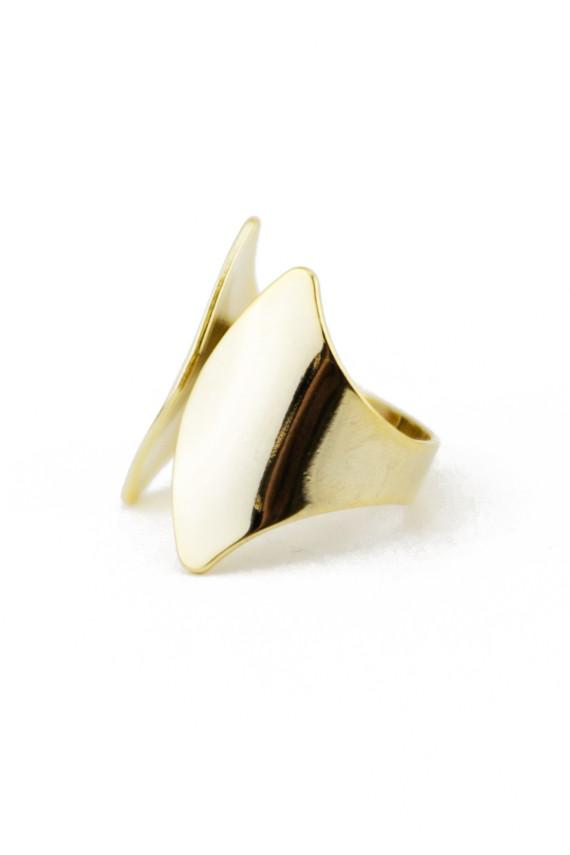LEGEND PLATED RING
