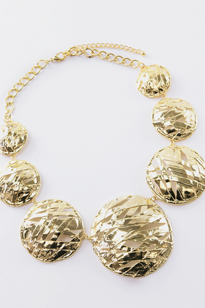 Jeha Gold Circles Necklace