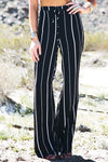 Beckha Striped Linen Pants - Haute & Rebellious