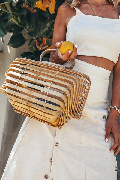 Collapsible Basket Bag