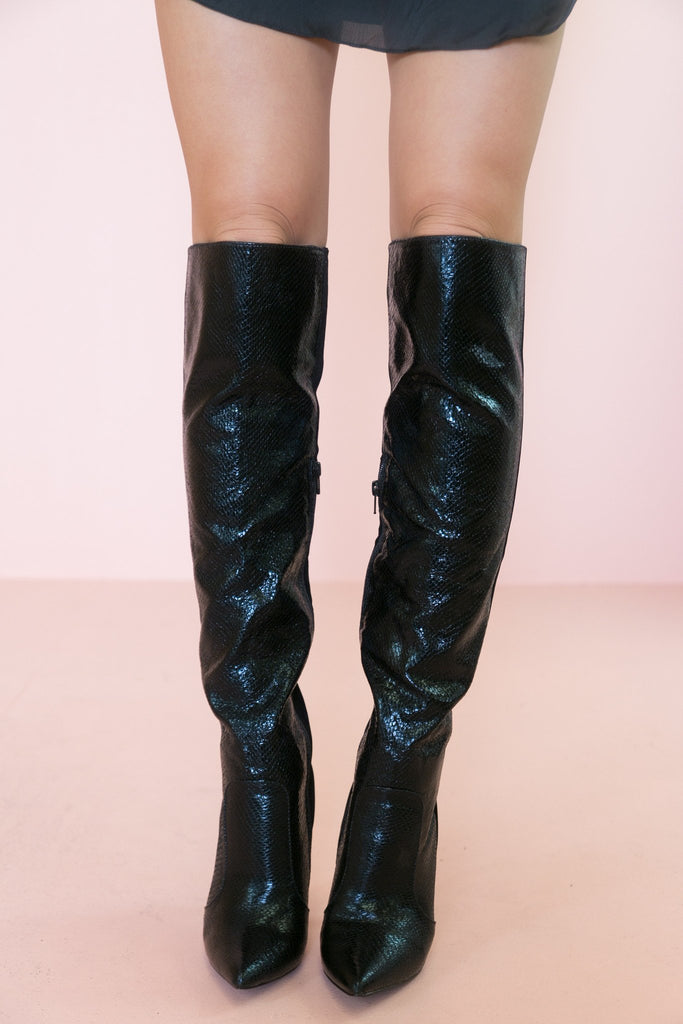 Kailyn Knee High Boots - Haute & Rebellious