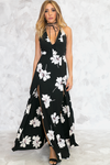 Take Me There Floral Maxi Dress /// ONLY 1-S LEFT/// - Haute & Rebellious
