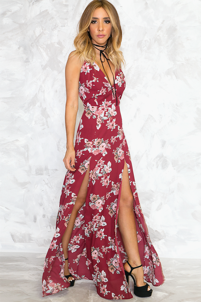 Be There Floral Maxi Dress - Haute & Rebellious