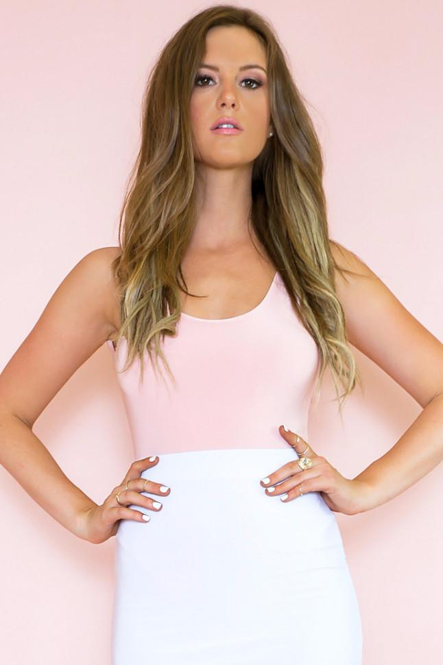 Agatha Bodysuit - Blush